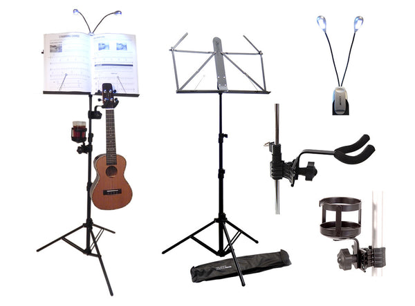 The Ukulele Players Music Stand Set