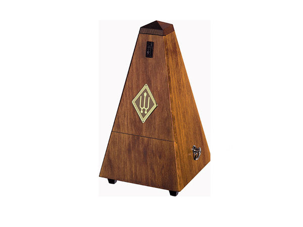 Wittner Metronome 814M Wood Case Solid Walnut Silk finish With Bell