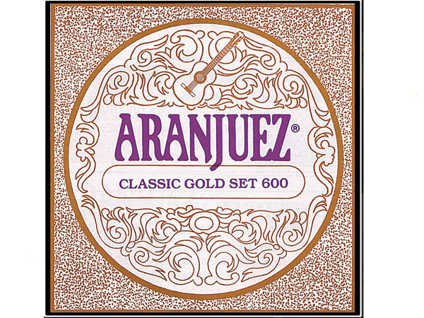 Aranjuez Concert Gold String Set A600