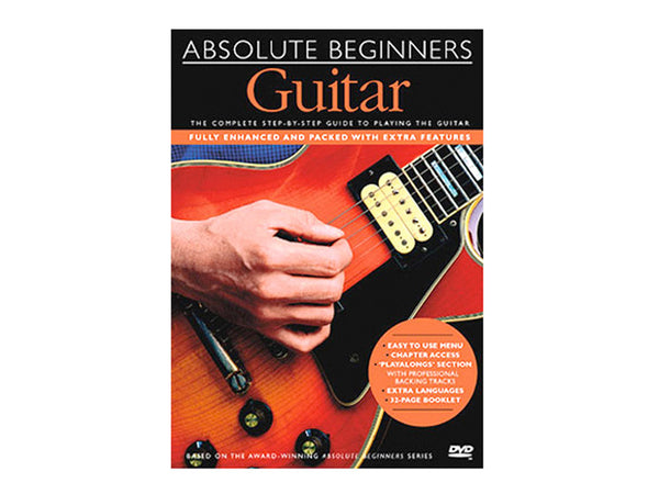 Absolute Beginners Guitar DVD..