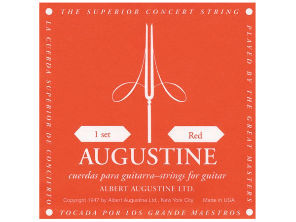 Augustine Classical Black Guitar String Sets