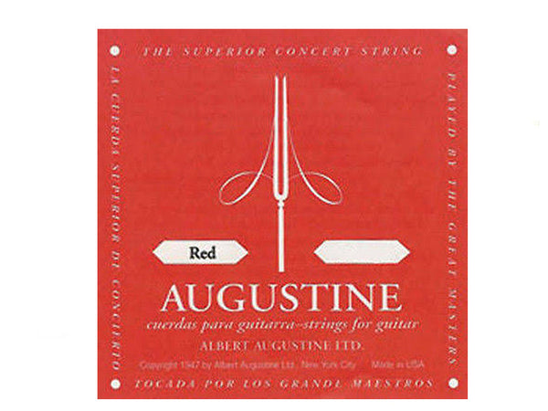 Augustine Classic Red Clear Nylon Normal Tension  A 5th string.