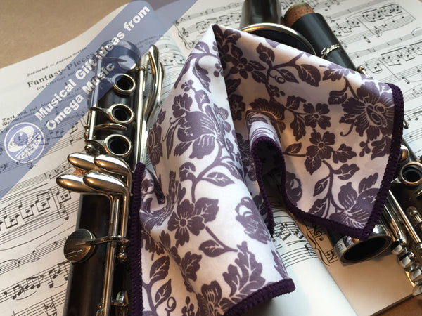 Clarinet Gift Polishing Cloths