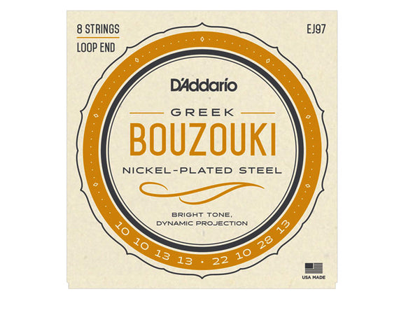 D'Addario Greek Bouzouki 8 String Set