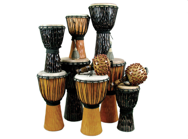 Djembe Pack Medium  12 Players