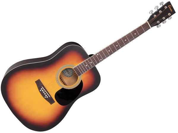 Encore Acoustic Guitar Outfit - Sunburst