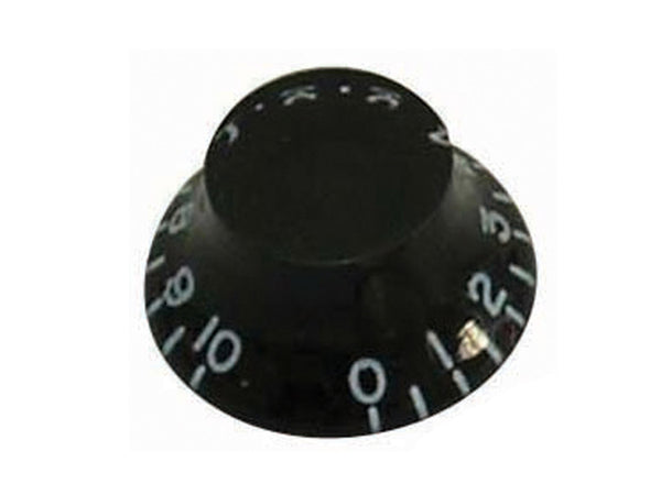 Black Bell Type Control Knobs