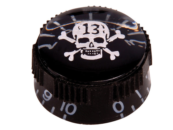 Black Skull Speed Control Knobs