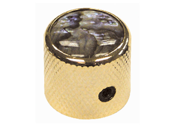 Gold Dome Abalone Top Control Knobs