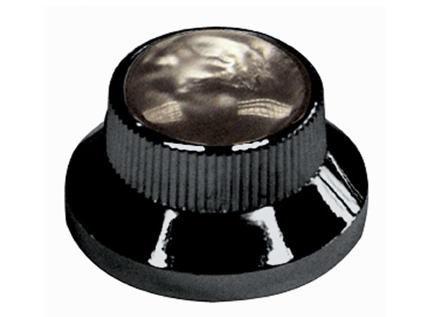 Black & Pearl Bell Type Control Knobs
