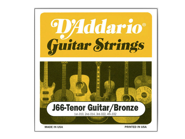 D'Addario J66 Tenor Guitar Strings