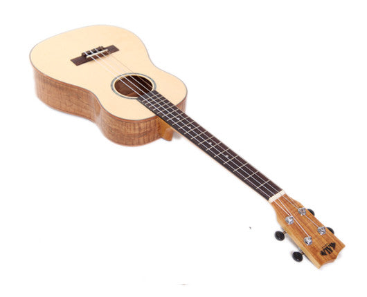 Kala KA-FMB Gloss Baritone Ukulele - Solid Top, Spalt Maple Back