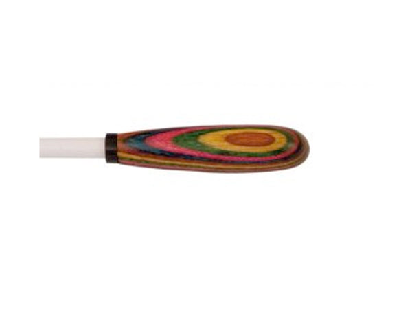 King David Rainbow Handle Conductor's Baton 12