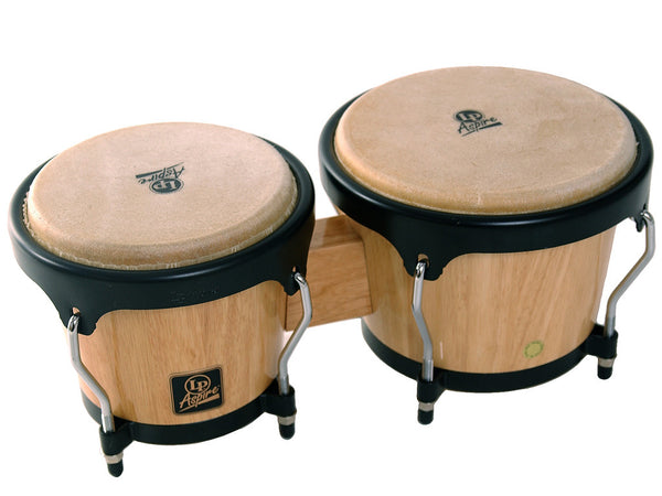 LP Aspire Wooden Tunable Bongos