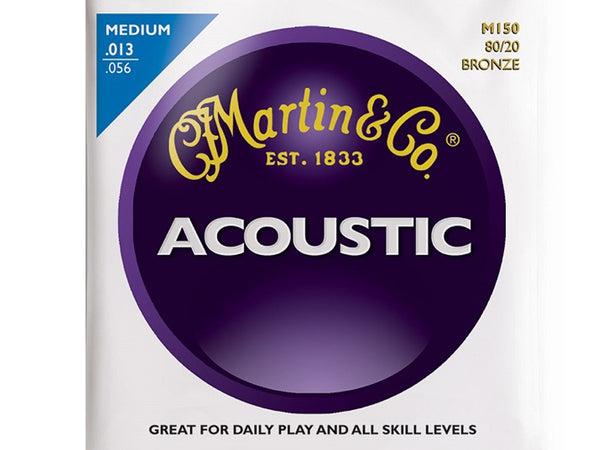 Martin M150 Acoustic Bronze Medium Strings