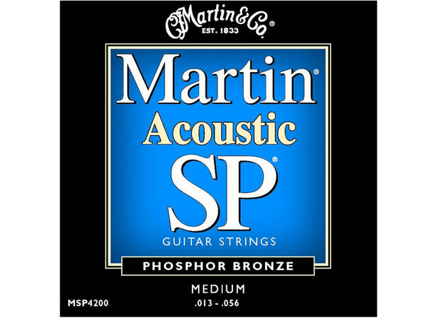 Martin MSP4200 Medium SP Acoustic 13-56 String Set