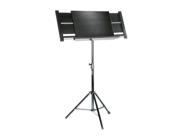 Orchestral conductor's stand - black