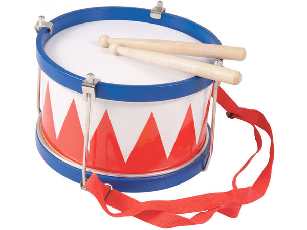 Performance Percussion Wooden Marching Drum - 20cm