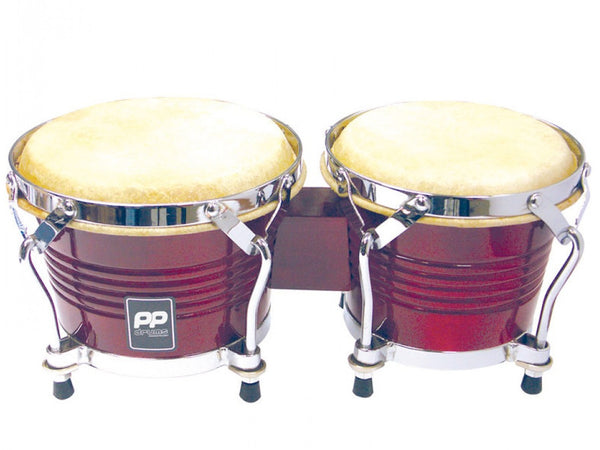 Performance Percussion World Natural Wood Bongos