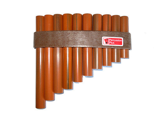 Percussion Plus Plastic Pan Pipes 10 Note C-E