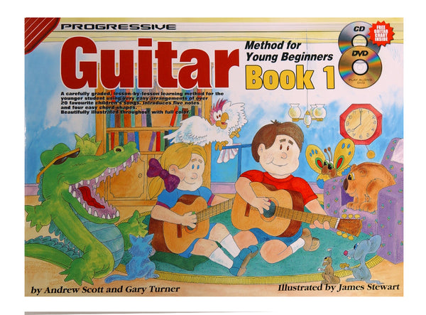 Progressive Guitar for Young Beginners - Book 1