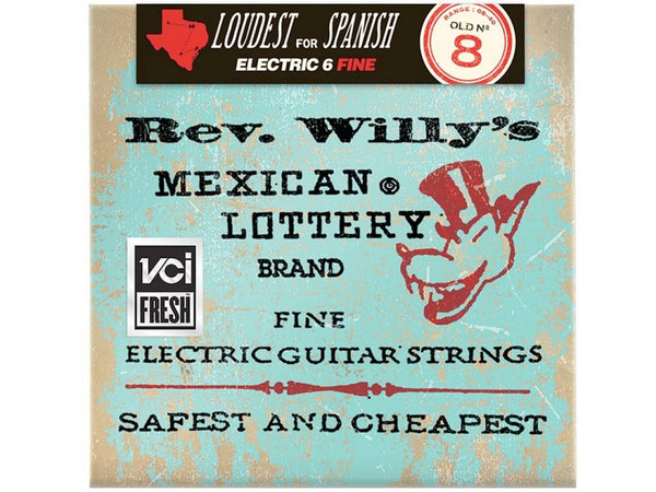 Dunlop Rev. Willy's Mexican Lottery Electric Guitar Strings - Light