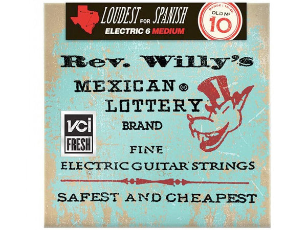 Dunlop Rev. Willy's Mexican Lottery Electric Guitar Strings - Medium