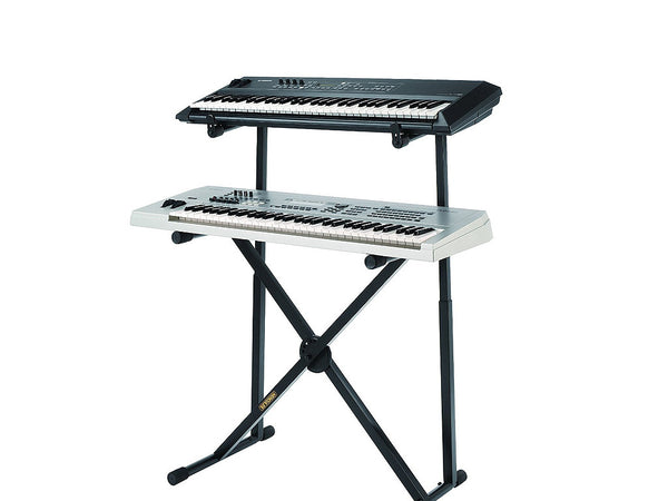 Hercules Auto Lock Z Style Double Keyboard Stand