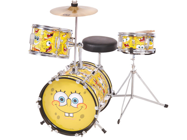 SpongeBob SquarePants 3-Piece Junior Drum Kit - SBK200