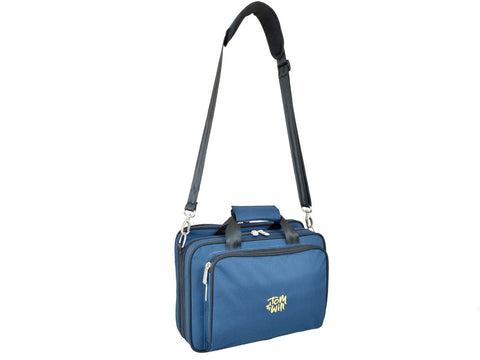 Tom and Will 36OB-315 Oboe Gig Bag, Blue with Navy Trim