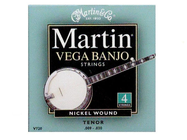 Martin Vega 4 String Tenor Banjo Set