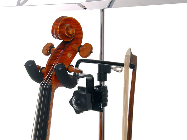 Violinist's Friend - Violin and Bow Music Stand Hanger