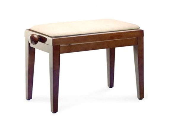 Chesterwood 1 Adjustable Piano Stool Walnut Gloss - Various Tops Available