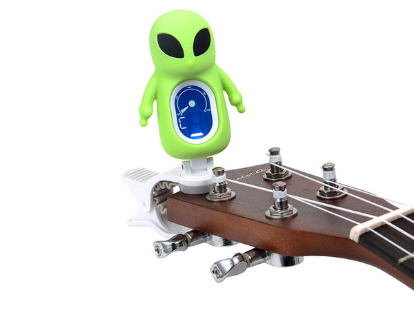 Swiff A71 ET Musical Instrument Tuner - Green Alien