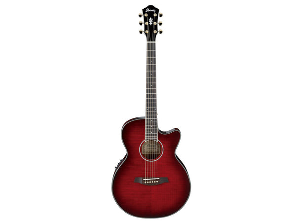 Ibanez AEG24II THS Red Burst