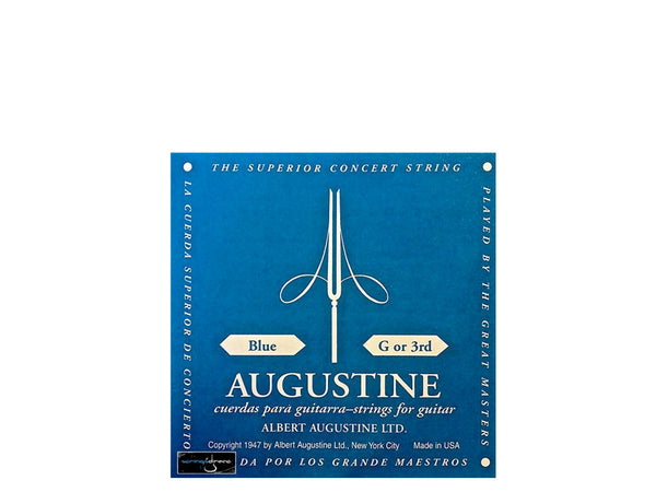 Augustine Blue Classical Guitar Single String. G or 3rd