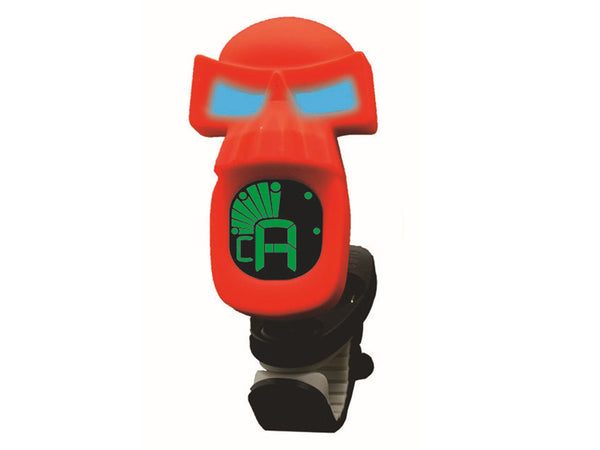 Swiff B73 Skull Musical Instrument Tuner - Red