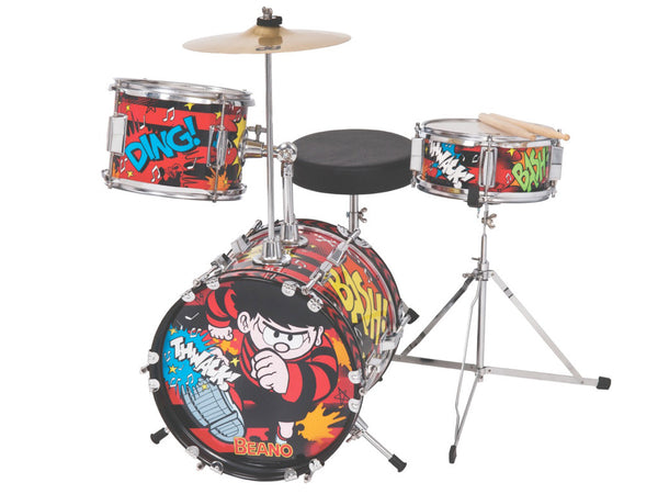 The Beano ~ 3-Piece Junior Drum Kit - TBK100