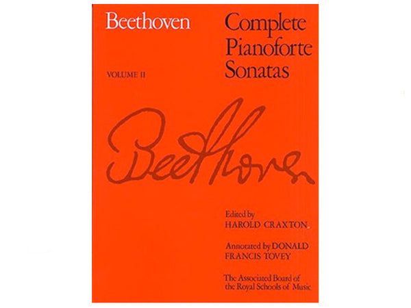 Beethoven: Complete Pianoforte Sonatas - Volume 2 (ABRSM Edition)