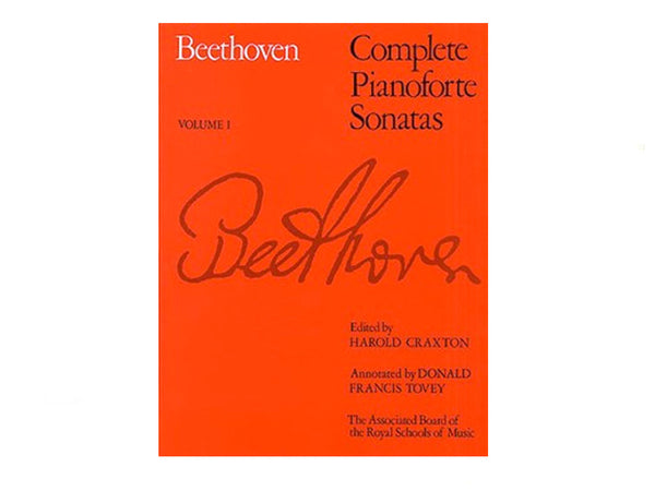 Beethoven: Complete Pianoforte Sonatas - Volume I (ABRSM Edition)