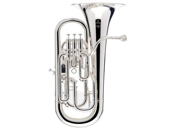 Besson Sovereign BE967 Bb Silver Plated Euphonium..
