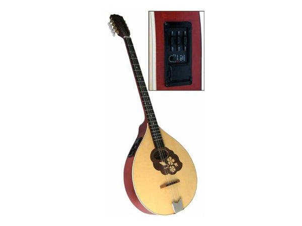 Blue Moon Electro Acoustic Bouzouki With EQ GR33002
