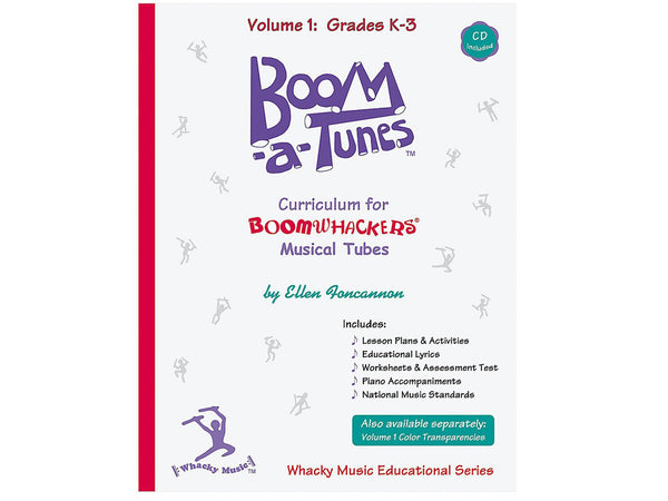 Boomwhackers BT1B Boom-A-Tunes Curriculum CD Volume 1