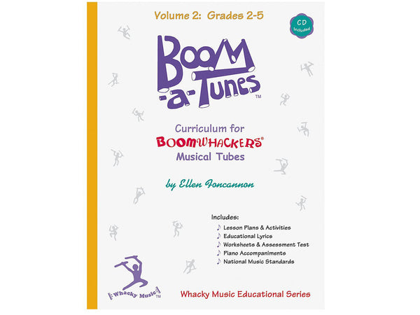 Boomwhackers BT2B Boom-A-Tunes Curriculum CD Volume 2