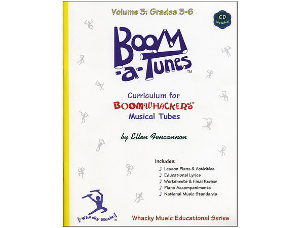 Boomwhackers BT3B Boom-A-Tunes Curriculum CD Volume 3