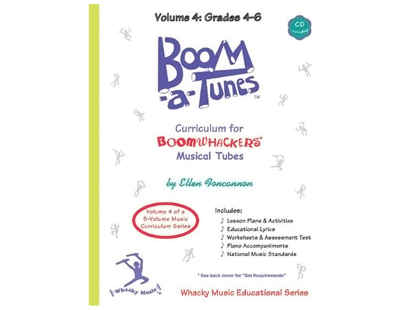 Boomwhackers BT4B Boom-A-Tunes Curriculum CD Volume 4