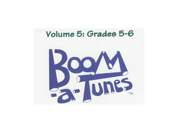 Boomwhackers BT5B Boom-A-Tunes Curriculum CD Volume 5