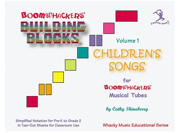 Boomwhackers BV1T Building Blocks Children's Songs CD Volume 1