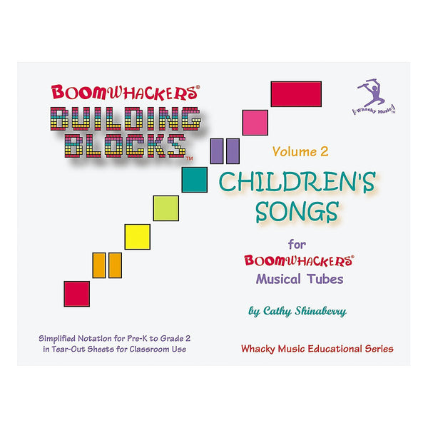 Boomwhackers BV2T Building Blocks Children's Songs CD Volume 2