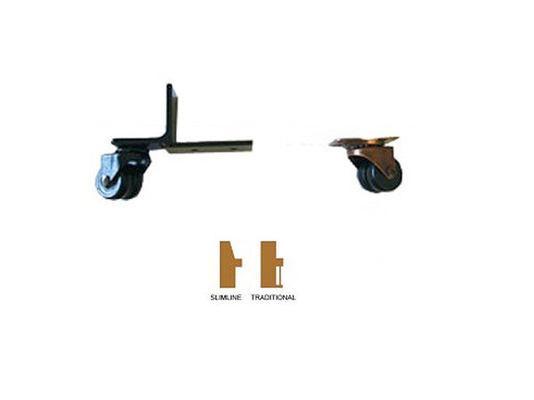 Piano Castors Toe And Heel Safety Set..